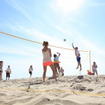 beachvolleybal strand